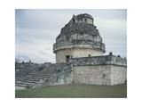Mexico, Yucatan State, Chichen Itza, El Caracol, Circular Astronomical Observatory Giclee Print