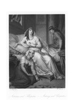 Scene from Antony and Cleopatra Giclee Print by August Spiess