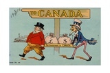 To Canada Giclee Print