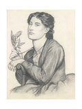 The Laurel Giclee Print by Dante Gabriel Rossetti