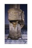 Marble Pulpit Designed Giclée-tryk af Filippo Brunelleschi