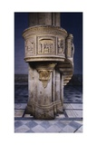 Marble Pulpit Designed Giclee Print by Filippo Brunelleschi