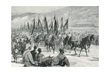 Victorious Agordat Troops Returning to Keren, 1894 Giclee Print