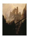 Rocky Ravine Giclee Print by Caspar David Friedrich