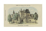 Chateau D'Uzes, Uzes, Gard Giclee Print by  French School