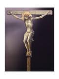 Crucifix Giclée-tryk af Lorenzo Monaco