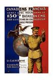 French Canadians, 1915 Impression giclée