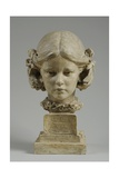 Bust of Elfrida Thornycroft, 1909 Giclee Print by William Hamo Thornycroft