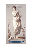 The Four Seasons - Printemps, 1873-74 Giclee Print by Joseph Felon