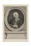 Portrait of Louis De Silvestre Giclee Print by Augustin De Saint-aubin