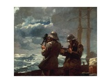 Eight Bells, 1886 Giclee Print by Winslow Homer