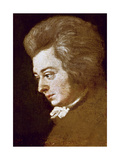 Wolfgang Amadeus Mozart Giclee Print by Joseph Lange