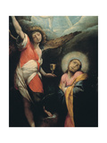 Christ Praying in the Garden of Gethsemane Giclee Print by Giovanni Battista Crespi