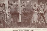 Bundoo Devils, Sierra Leone Photographic Print