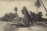Katamaran or Fishing Boat Photographic Print