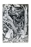 The Witches at the Sabbath Giclee Print by Hans Baldung Grien