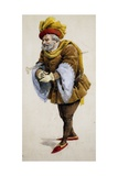 Costume Sketch Giclee Print by Adolfo Hohenstein