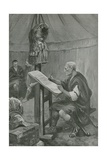 Julius Caesar's Tribute to the Belgians Giclee Print by Charles Mills Sheldon