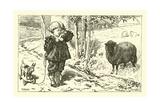 Baa, Baa, Black Sheep Giclee Print