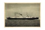 Cosulich Line Trieste, M.S. Saturnia, Dampfschiff Giclee Print