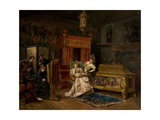 The Artist's Studio, 1876 Giclee Print by Ignacio Leon Y Escosura