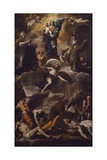 The Plague of Naples, Circa 1660 Giclee Print by Mattia Preti