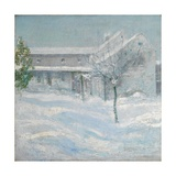 Old Holley House, Cos Cob, 1901 Giclee Print by John Henry Twachtman