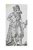 King of Florida, Engraving Giclée-Druck von Cesare Vecellio