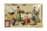 Cooking in Ancient Greece Giclee Print