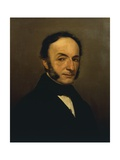 Portrait of His Father Giclee Print by Federico Faruffini