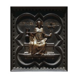 Faith, Bronze Panels Giclee Print by Andrea Pisano