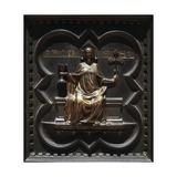 Faith, Bronze Panels Giclee Print by Andrea Pisano