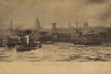 Liverpool, from the Mersey Photographic Print by  English Photographer