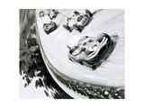 Grand Prix, Monza, Italy, in 1957 Giclee Print