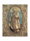 Antependium of the Wall Hanging in Saint Charles Giclee Print by Giovanni Battista Crespi