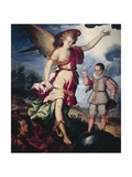 Guardian Angel Giclee Print by Luis Juarez