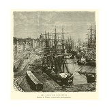 The Docks of Montreal, Quebec, Canada Giclee Print