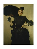 Portrait of Madam Closmenil Giclee Print by Charles Giron