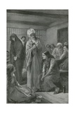 The Woman Who Roused Public Opinion Giclee Print by Charles Mills Sheldon