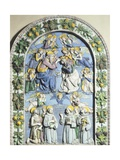 Coronation of Virgin Giclee Print by Andrea Della Robbia