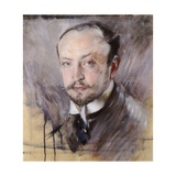 Self-Portrait, Front View Giclee Print by Giovanni Boldini