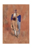 """""""A Very Clever Picador Named Lucas"""" Giclee Print by René Bull"""
