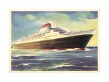 Italia, Societa Di Navigazione Genova, Andrea Doria Giclee Print