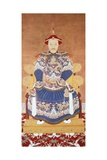 Portrait of Chinese Emperor K'Ang Hsi Giclee Print