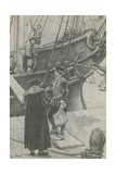 Young Martin Sets Out on His Adventures Giclee Print by Walter Stanley Paget