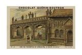 Arc De Triomphe Et Ossuaire, a Sizun, Finistere Giclee Print