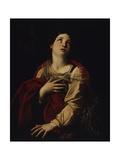 St Margherita Giclee Print by Guido Reni