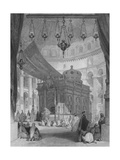 Church of the Holy Sepulchre, Jerusalem Giclee Print by Thomas Allom