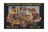 International Exposition, Barcelona, 1929 Giclee Print