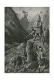 Over the Alps to the Gates of Rome Giclee Print by Charles Mills Sheldon